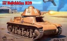 HOTCHKISS H 39 (francese 1940 & israeliano 1947 marcature) 1/72 RPM