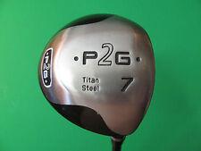 "42"" P2G Titan Steel 7 Wood. iDrive Tour 3.5 Graphite Shaft."