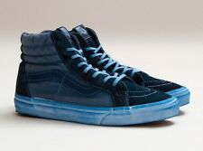 "VANS SK8-HI REISSUE ""OVER WASHED BLUE"" Men Size 9.5 Women 11"