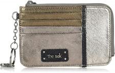 Grey The Sak Women's Vista Smartphone Crossbody Wallet Money Credit Card Purse