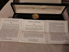 More details for the franklin mint monte carlo casino watch ..
