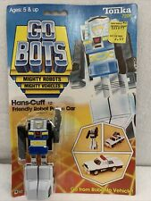 Vintage 1983 Tonka Bandai Gobots Hans-Cuff (Mr-13) with Cardback