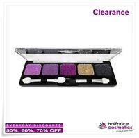NYX, Glitter Cream Eye Shadow Palette, #GCP07 Royal Violets