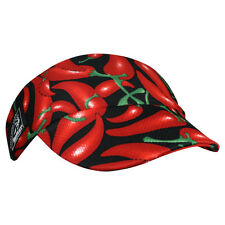 Headsweats Mini Visor *Chili Peppers* Running/Triathlon *New with tags*