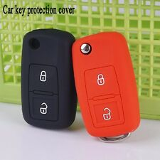 2pc Car Key Case cover for VW Volkswagen Golf MK4 Bora Passat Polo Touran Cady