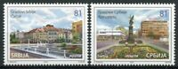 Serbia Tourism Stamps 2020 MNH Cities Cacak Architecture 2v Set