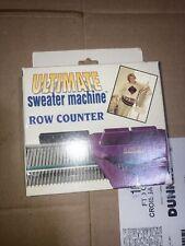 Row Counter Ultimate Sweater Machine (knitting) Brand New In Box Original
