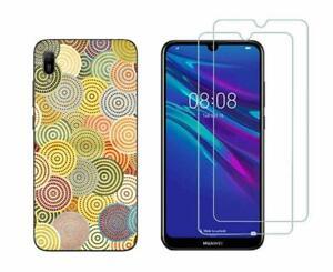 Huawei Y6 2019 -  Pack 2 films en verre trempé protection écran + coque