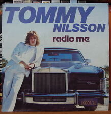 TOMMY NILSSON RADIO ME LINCOLN CONTINENTAL CAR COVER FRENCH SP DISC AZ 1981