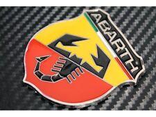 Fiat Abarth badge emblem 500 Punto Panda 500l Bravo Doblo 500c Qubo Evo Grande