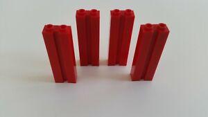 Lego 88393 # 4x Stein 1x2x5 Rot  7939 7208