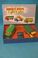 """COFFRET INEDIT VIDE CAMION  BERLIET """"GAK""""  DINKY TOYS Ref 584- 585- 577"""