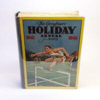 1941 Greyfriars Holiday Annual First Edition Vintage Hardcover for Boys & Girls