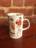 Dunoon Mother Mum Mug Cherry Denman Design Fine Bone China Tea Coffee England