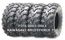 4 New WANDA ATV/UTV Tires 25X8-12 25X10-12 for 2003-2013 KAWASAKI BRUTEFORCE 750