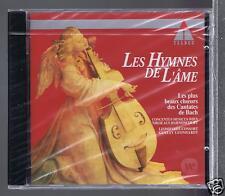 JS BACH CD NEW LES HYMNES DE L' AME/ CANTATES/ G. LEONHARDT/ N. HARNONCOURT
