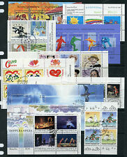 Weeda Finland VF used First Day Cancels booklet panes/souvenir sheets CV $80.25