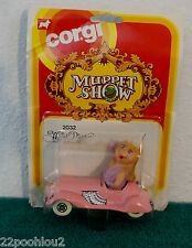 Vintage Corgi Muppet Show Miss Piggy Car