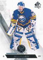 Dominik Hasek 2013-14 SP Authentic #24 Buffalo Sabres Upper Deck Hockey Card