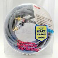 Monster Cable M550i High Performance Interconnect RCA Cable 24k Gold Connect 2M