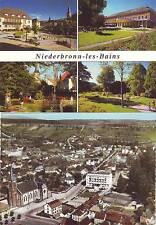 CPM 67 : 2 CARTES de NIEDERBRONN LES BAINS - Multivues et vue générale aérienne