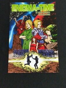 Enigma in Time Bad Aura Comic Chris Kostecka Nino Cajayon