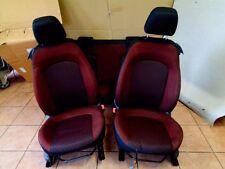 Fiat Punto 199 Bj:08 3 Türer Sitze Rücksitzbank Vorne Rechts Stoff schwarz / Rot