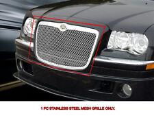 Stainless Steel Mesh Grille Grill Upper For Chrysler 300/300C 2005-2010