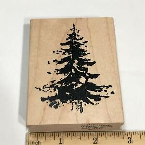 Art Impressions EVERGREEN TREE Rubber Stamp