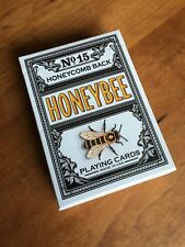 HoneyBee Black No 15 Playing Cards by Penguin Magic; New Sealed