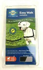 PetSafe Easy Walk Dog Harness Adjustable Nylon Non-Pull Sz Small Medium Black