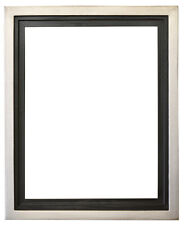 """Silver Floater Frame for 3/4"""" and 1^1/2"""" deep Canvas"""