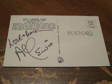 The Munsters Al Lewis autographed 4x5 1/2 Postcard PSA PRE CERT