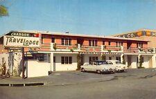 HARBOR TraveLodge Motel, San Diego, California, AAA- UNUSED Roadside Postcard