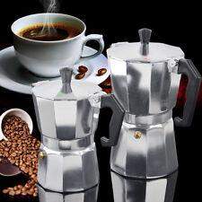 Bialetti Moka Express Aluminium Espressokocher 3/6 Tassen Expresso Latte Coffee