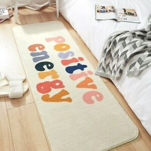 Modern Carpet Anti-skid Bedside Mats Soft Lamb Cashmere Mats  Room Long Rugs