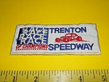 Trenton Speedway Race Of Champions Patch