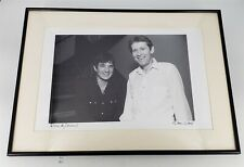 ThriftCHI ~ Signed Kirk West Photograph Rick & Levon of The Band The 11th Hour