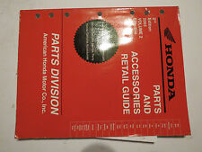 OEM USED Honda Dealer Parts and Accessories 2nd Edition Price List 2003