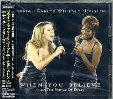 sealed MARIAH CAREY WHITNEY HOUSTON WHEN YOU BELIEVE Japan CD 1st OOP SRCS-8821