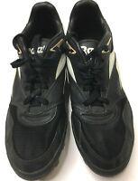 REEBOK PIT-BULL Men's Black Football Soccer Cleats SIZE 10.5