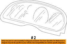FORD OEM 99-01 F-250 Super Duty Dash Gauge Speedometer-Cluster Lens F81Z10890AA