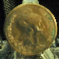 CIRCULATED 1916 10 CENTIMES FRENCH COIN (80819)1