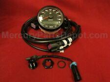 Mercury SmartCraft SC1000 Speedometer 80 mph Black P/N#: 8M0135631 SS 8M0101094