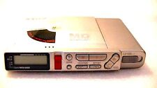 VINTAGE SONY MD MINIDISC WALKMAN RECORDER MZ-R37, silver color