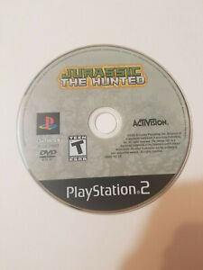 Jurassic: The Hunted (Sony PlayStation 2, 2009) game only, tested & Free ship