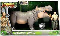 🌟 NEW Jumanji Massive Hippo Figure Interactive Toy Action + Poseable Figure