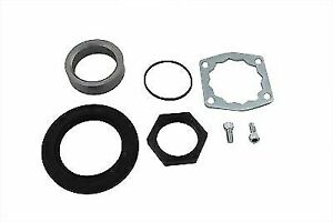 Front Pulley Lock Plate Kit for Harley Davidson by V-Twin