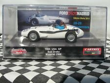 CARTRIX 1960 MASERATI 250F 'USA GRAND PRIX' #20  0038 1:32 SLOT NEW OLD STOCK