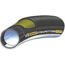 Continental Competition Tubular Road/Racer Bike/Cycling Tyre 700c x 25mm - Black